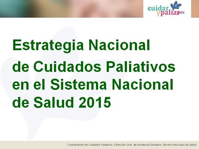 ESTRATEGIA NACIONAL CYP SNS 2015